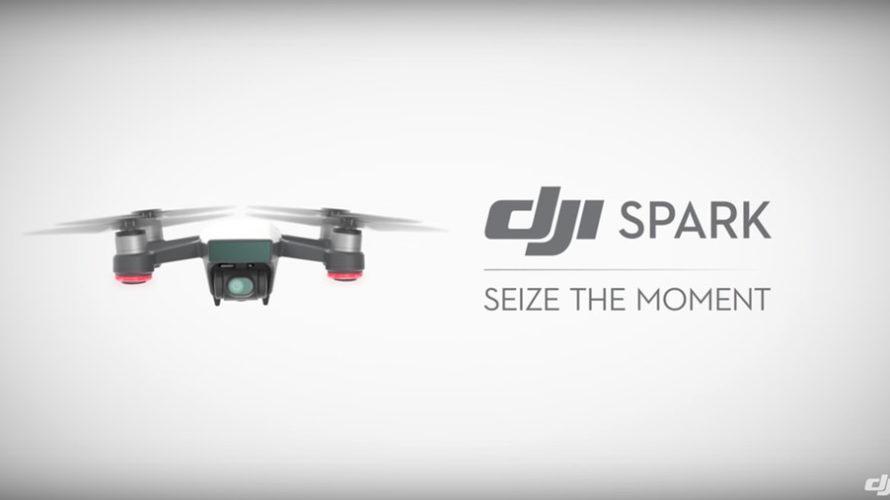 小型ドローンの「DJI Spark」がすごい!
