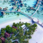 【天国に一番近い島】モルディブでドローン空撮したら絶景だった!!