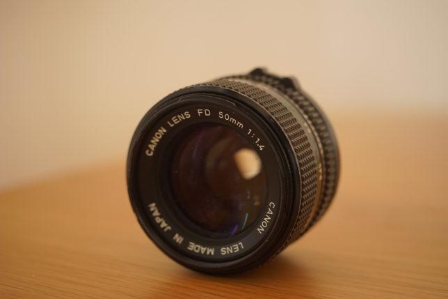FDlens_f1.4_50mm